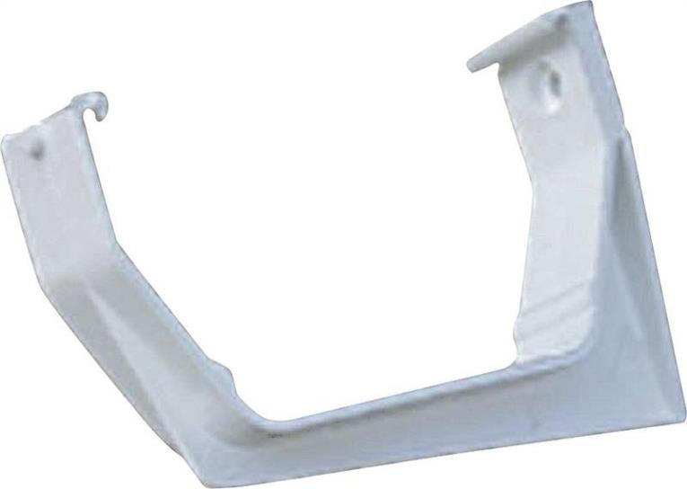 GUTTER BRACKET WHITE 300PC