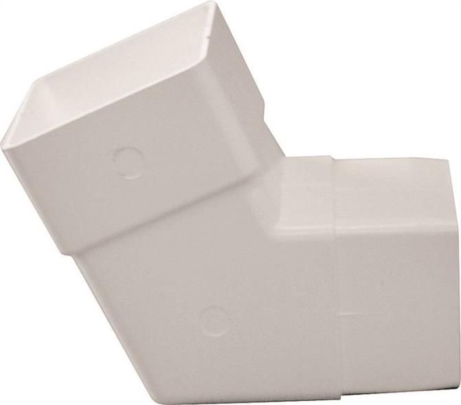 DOWNSPOUT ELBOW WHT PVC 100PC