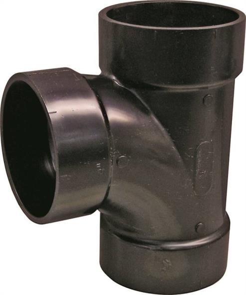 ABS SANITARY TEE 4IN