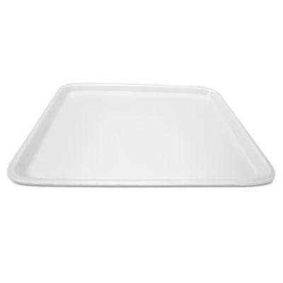Supermarket Tray, Foam, White, 18 x 14, 100/Carton
