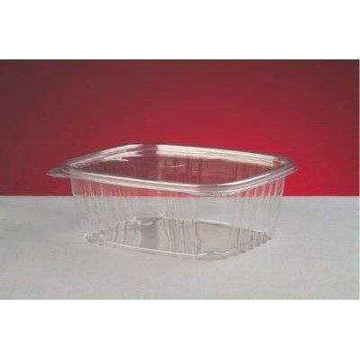 32-oz Hinged-Lid Deli Containers, 200 Containers