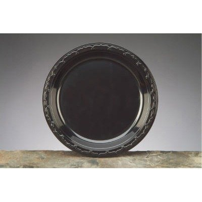10-1/4 in. Silhouette Plastic Plate, 400 Plates