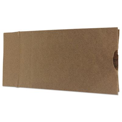 #12 Paper Grocery Bag, 35lb Kraft, Standard 7 1/16 x 4 1/2 x 12 3/4, 1000 bags