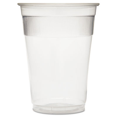 Individually Wrapped Plastic Cups, 9oz, Clear, 1000/Carton
