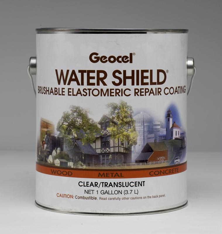 1 Gal. Water Shield® Brushable Repair Coating, Clear/Translucent