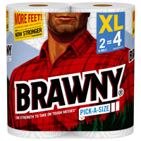 TOWEL BRAWNY 2XL WHITE PAS