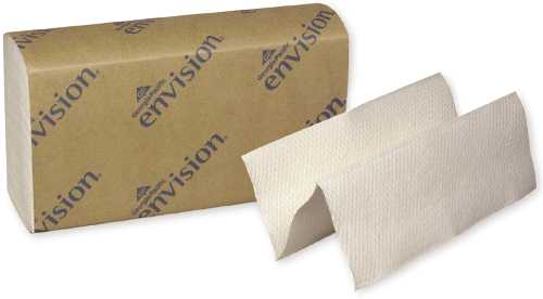 ENVISION� MULTIFOLD PAPER TOWELS, WHITE, 9.2X9.4 IN.