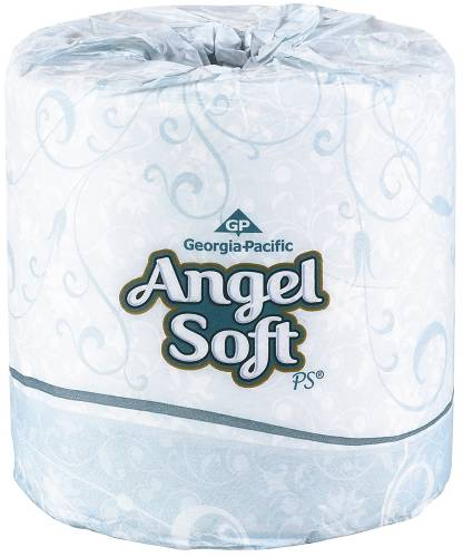 GP ANGEL SOFT BATHROOM TISSUE 2 PLY
