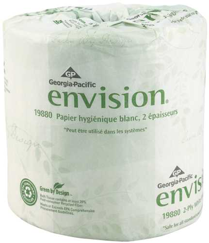 ENVISION BATHROOM TISSUE 2 PLY