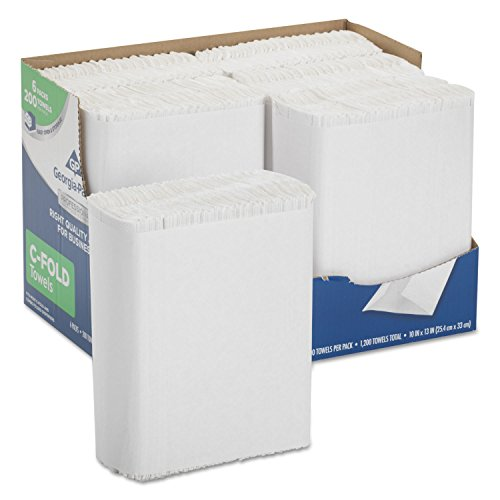 Professional Series Premium Paper Towels, C-Fold, 10 x 13, 200/Bx, 6 Bx/Carton