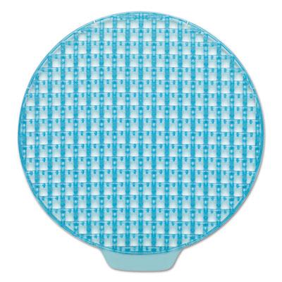 ActiveAire Deodorizer Urinal Screen, Coastal Breeze, w/Side Tab, Blue, 12/Ctn