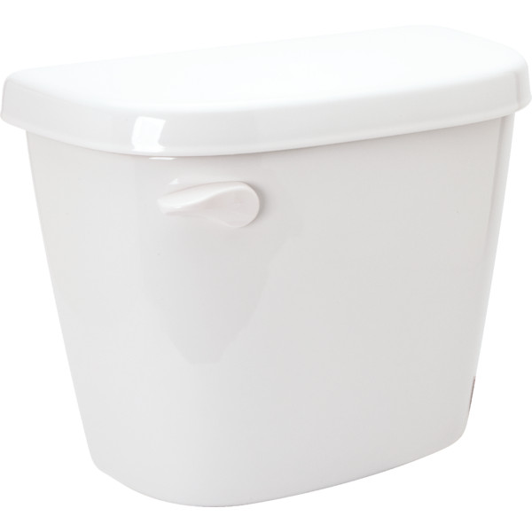GERBER� MAXWELL� WATERSENSE� HIGH-EFFICIENCY TOILET TANK ONLY  WITH 12 IN. ROUGH-IN, WHITE, 1.28 GPF