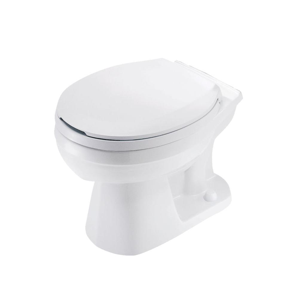 GERBER� ULTRA FLUSH� WATERSENSE� SIPHON JET TOILET BOWL ONLY  WITH ROUND FRONT, WHITE, 1.6 GPF