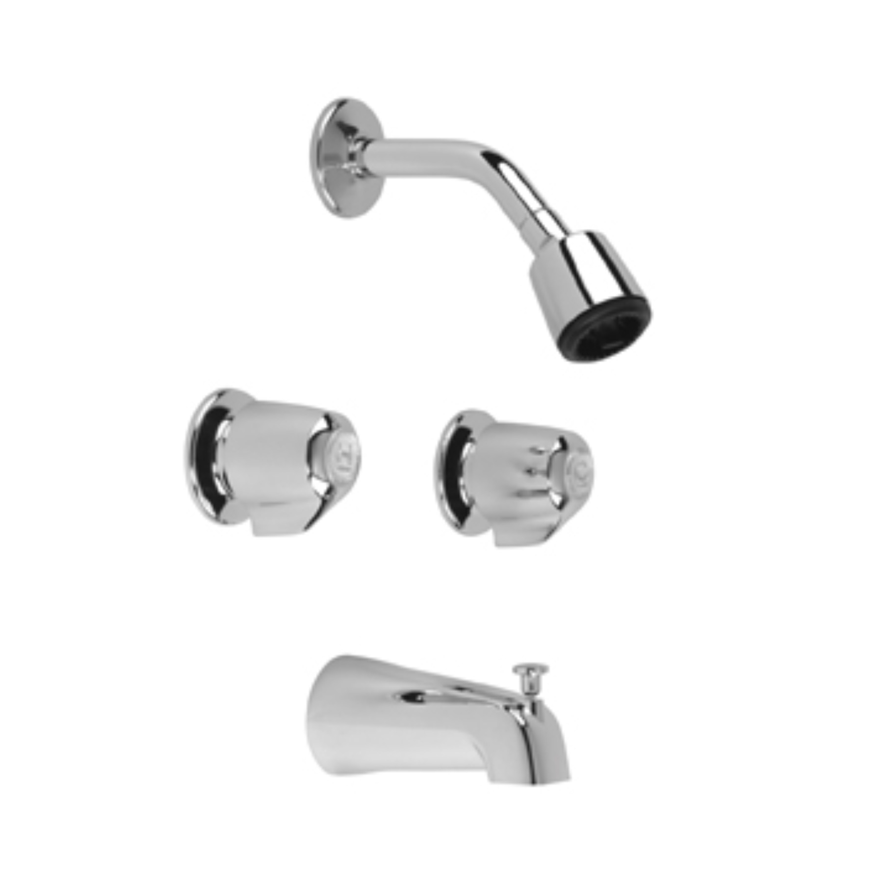 GERBER TUB AND SHOWER FAUCET, 2-VALVE