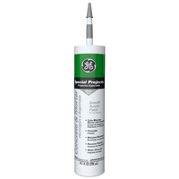 GE GE14225 Mortar Patch Acrylic Caulk, 10.1 oz, Cartridge, Gray, Solid