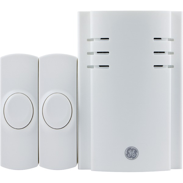 GE 19300 Wall Outlet Wireless Door Chime