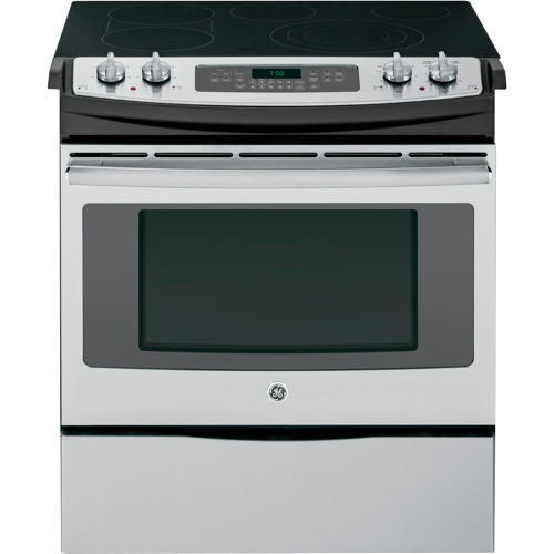 GE� 30-INCH 4.4 CU. FT. SLIDE-IN ELECTRIC RANGE, STAINLESS