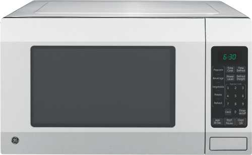 GE� 1.6 CU. FT. COUNTERTOP MICROWAVE OVEN, STAINLESS, 1150 WATTS