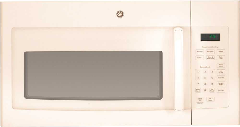 GE� 1.6 CU. FT. OVER-THE-RANGE MICROWAVE OVEN, BISQUE, 1000 WATTS