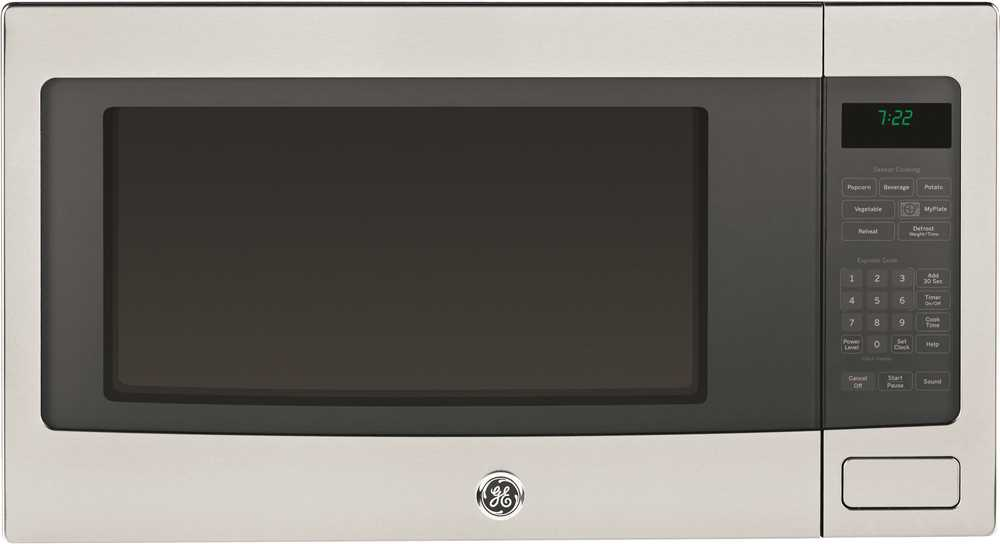 GE� PROFILE� SERIES 2.2 CU. FT. COUNTERTOP MICROWAVE OVEN, STAINLESS, 1100 WATTS