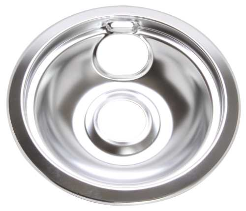 ELECTRIC RANGE DRIP PAN FITS GE� HOTPOINT� #WB31M1, CHROME, 6 IN.