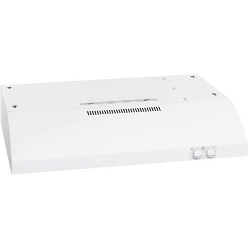 "GE® 30"" Two-speed 200-CFM Under The Cabinet Range Hood, White"