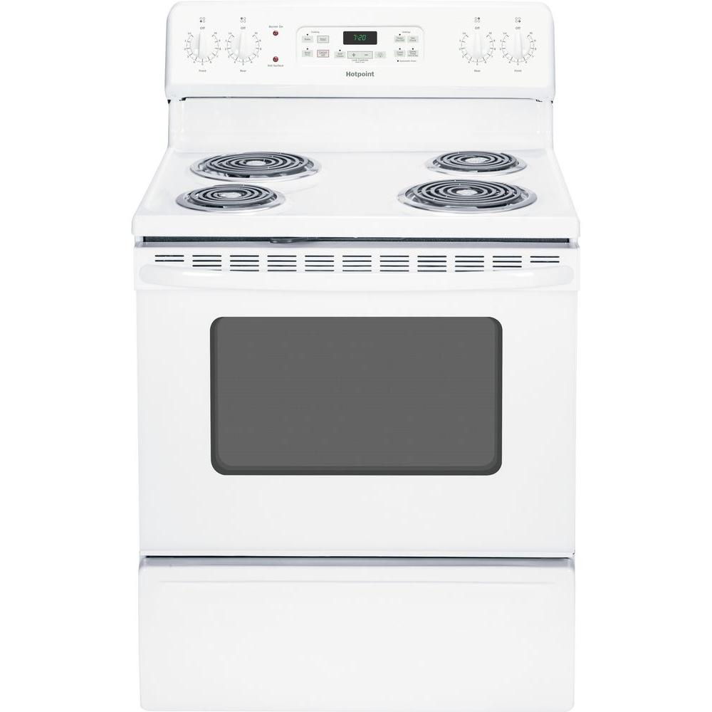 HOTPOINT� 30-INCH  30 IN. FREE-STANDING ELECTRIC RANGE