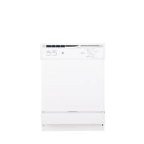 GE� SPACEMAKER� UNDER-THE-SINK 24-INCH DISHWASHER WITH TOUCHPAD CONTROLS, WHITE, 5 CYCLES / 2 OPTIONS