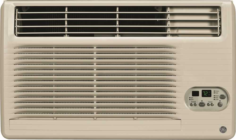 GE� ENERGY STAR� BUILT-IN ROOM AIR CONDITIONER, COOL-ONLY, 10,400 BTU, 115 VOLTS