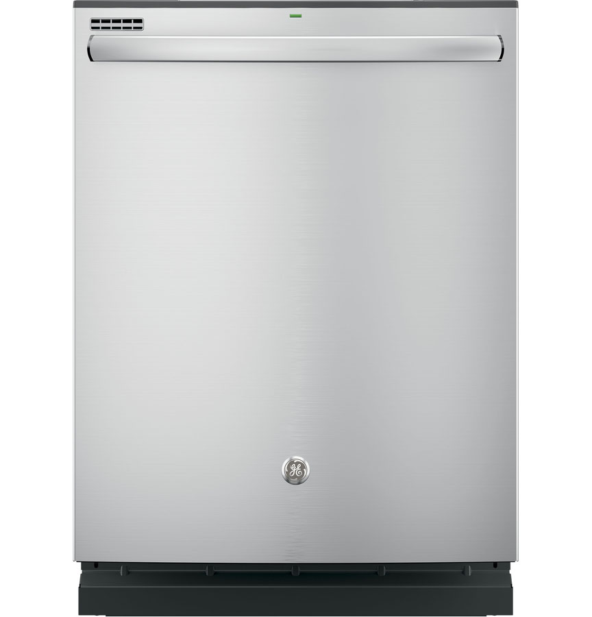 GE® Hybrid Stainless Steel Interior Built-In Dishwasher with Hidden Controls, Stainless Steel