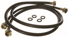 GE� 4 FT. RUBBER INLET HOSE FOR WASHER, 2 PER PACK