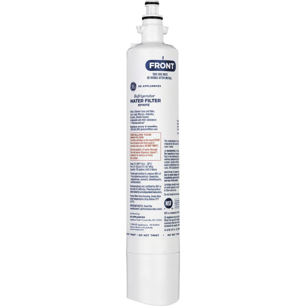 GE� REFRIGERATOR WATER FILTER