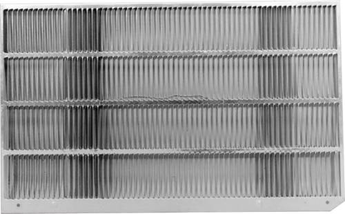 GE ALUMINUM REAR GRILLE FOR J SERIES WALL CASE