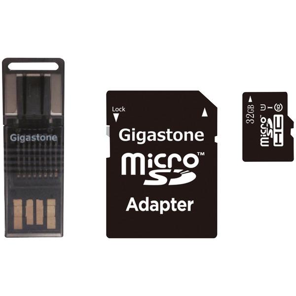 Gigastone GS-4IN1600X32GB-R Prime Series microSD Card 4-in-1 Kit (32GB)