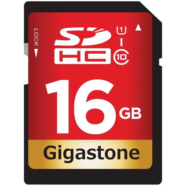 Gigastone GS-SDHC80U1-16GB-R Prime Series SDHC Card (16GB)