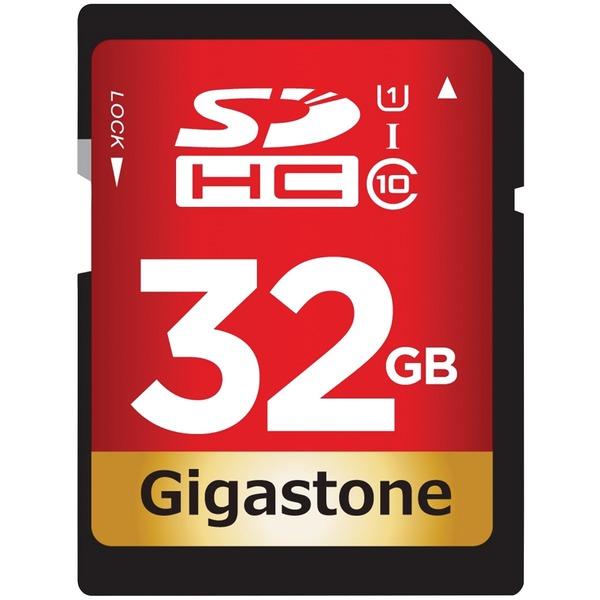 Gigastone GS-SDHC80U1-32GB-R Prime Series SDHC Card (32GB)