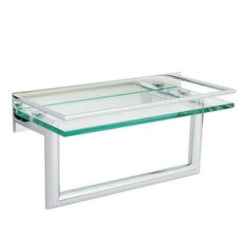Surface 12 Shelf With Towel Bar CP