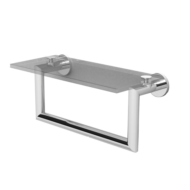 12 *KUBIC Shelf With Towel Bar CP
