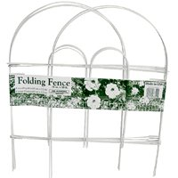 Glamos Wire 777009 Garden Fences, Folding, White