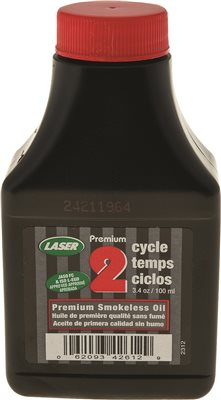 OIL 2 CYCLE 76 ML, 3.4 OZ