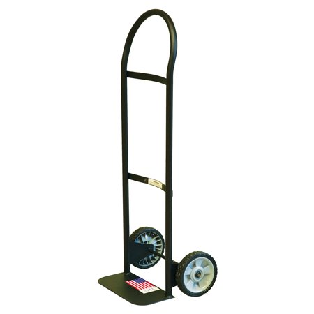 Gleason 30151 Cap Economy Hand Truck With 7 in Puncture Proof Tires, 300 lb, 7 in, Flow Back Handle, Plastic Wheel