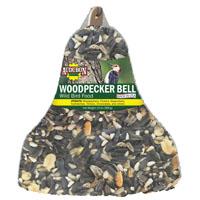 FOOD BIRD BELL WOODPECKER 13OZ