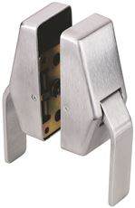 GLYNN-JOHNSON� ANTI-MICROBIAL HOSPITAL LATCH, 2-3/4 IN. BACKSET, PUSH/PULL, SATIN CHROME