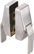 GLYNN-JOHNSON� ANTI-MICROBIAL HOSPITAL LATCH, 5 IN. BACKSET, PUSH/PULL, SATIN CHROME
