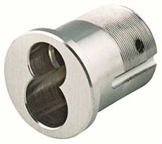 GMS� LARGE FORMAT SCHLAGE� MORTISE HOUSING, SCHLAGE� CAM, SATIN CHROME