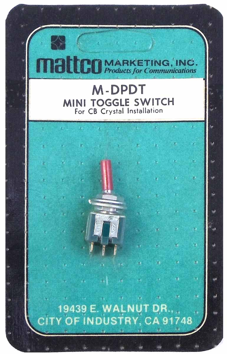MINI-TOGGLE SWITCH
