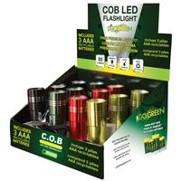 FLASHLIGHT DSP COB LED 12PC