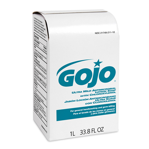 GOJO Ultra Mild Antimicrobial Lotion Soap -NXT 1000 mL