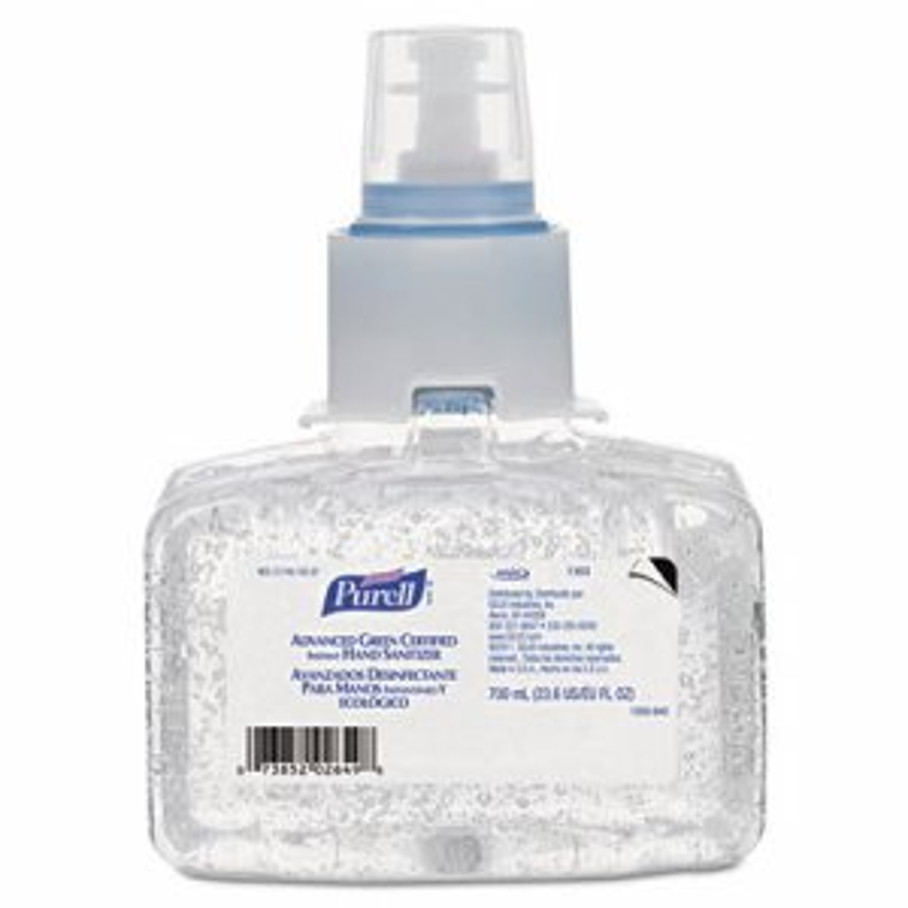 Advanced Green Certified Instant Hand Sanitizer Refill Gel, 700 mL, LTX7