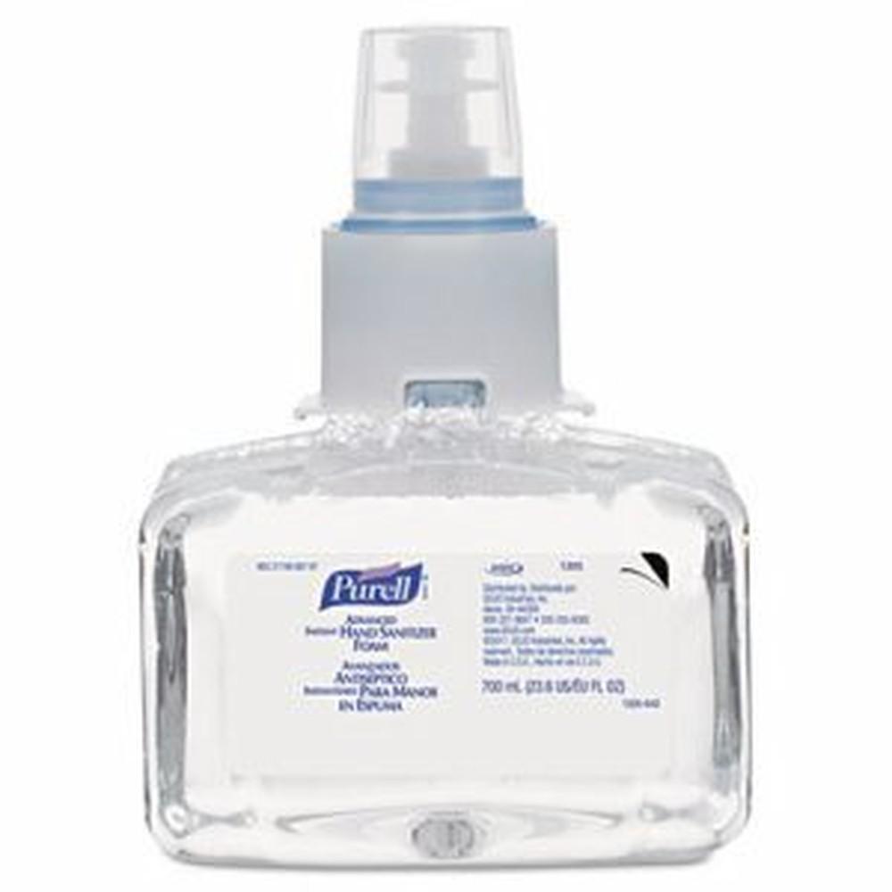 Advanced Instant Hand Sanitizer Foam, LTX-7, 700 ml Refill